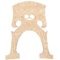 Teller Steg Belgisch, 1A-Qualität, roh, Cello 3/4, 85 mm