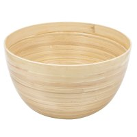 Bamboo Bowl Large, Natural