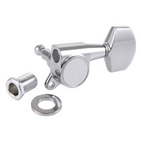 Gotoh Tuner Set, Model No. SG381-01, Buttons Zinc