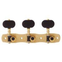 Gotoh Tuner Set, Model No. 35G1800-EN, Buttons Ebony