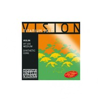 Thomastik Vision Titanium Solo Strings, Violin 4/4, Set
