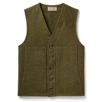 Filson Mackinaw Wool Vest, Forest Green, taille XL