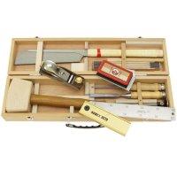 Coffret à outils, garni, 9 pièces