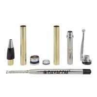 Ballpoint Pen Set Phoenix, Silver, 5-Piece Set