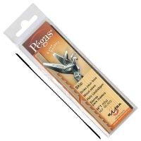 Pégas Skip Coping Saw Blades, Width 0.76 mm, 144-Piece Set