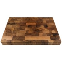 Acacia End Grain Cutting and Chopping Board