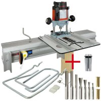 SET: WoodRat WR900, Cutter Set 2, PlungeBar C/F + MAFELL Hand Router LO 65 Ec