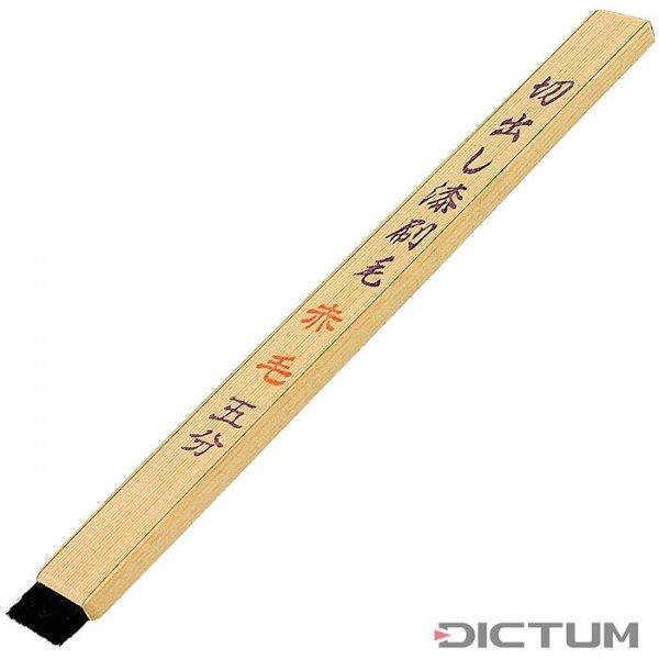 Urushi Brush »Kiridashi Hake«, Head Width 15 mm