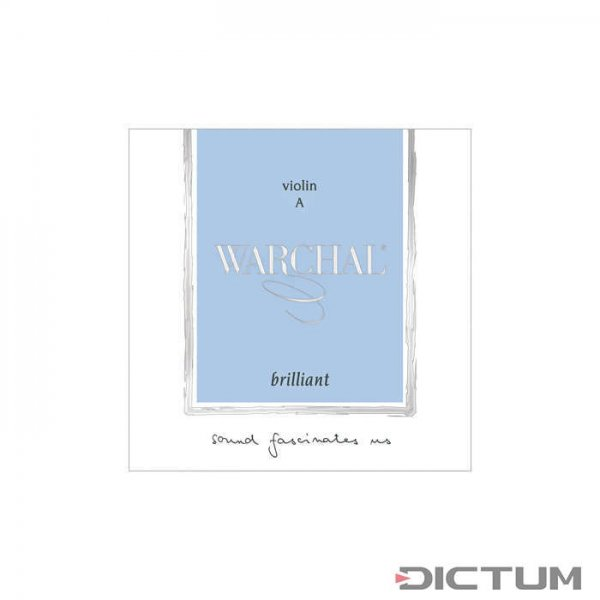 Warchal Brilliant Strings, Violin 4/4, Set, D Hydronalium