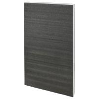 Kaizen Hartschaumeinlage, schwarz/weiß, Stärke 57 mm