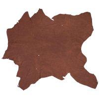 Elk Leather, Dark Brown, 19-20 sq. ft.