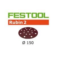 Festool Disque abrasif STF D150/16 P80 RU2/50