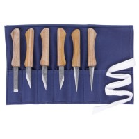 Violin Maker's Knives Kogatana, 6-Piece Set