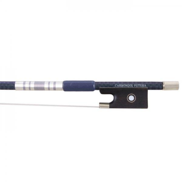Archet carbone Carbondix Futura Blue Velvet, violon 3/4