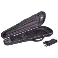 Jakob Winter Shaped Case, Violin 4/4, Carbon Design/black