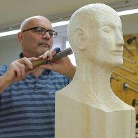 Gestalten eines menschlichen Kopfes