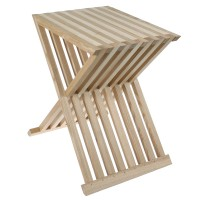 Folding Stool with Medieval Mortise and Tenon Joints