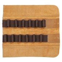 Trousse en cuir Deluxe, 12 compartiments
