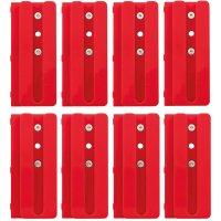 Zinken-Einzelschablonen mit Abstandshalter, Fingerzinken, 8 Stück