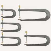 Aluminium Repair Clamps, 5-Piece Set
