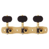 Gotoh Tuner Set, Model No. 35G1800-EN, Buttons Ebony