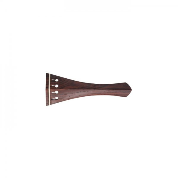 Tailpiece English Model, Rosewood, White Fret, Cello 4/4, 196 mm