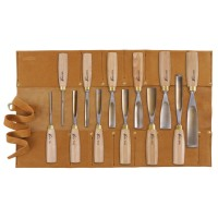 Herdim Scroll Gouges, 12-Piece Set