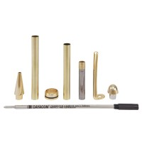 Ballpoint Pen Set Manta, Gold, 5-Piece Set