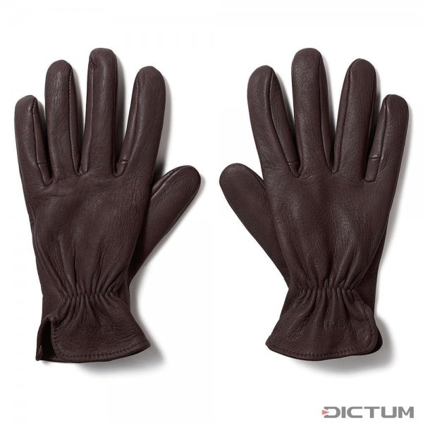 Filson Original Deer Gloves, Brown, taille M
