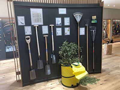 Exposición de jardín