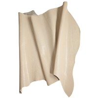 Imitation-Printed Calf Leather, Beige