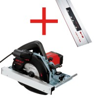 MAFELL Portable Circular Saw KSP 55 F in T-MAX and Guide Rail F 160