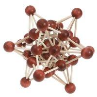 Interlocking Puzzle Atom lattice