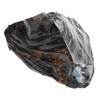 Obsidienne noir/brun, 1,1-1,4  kg