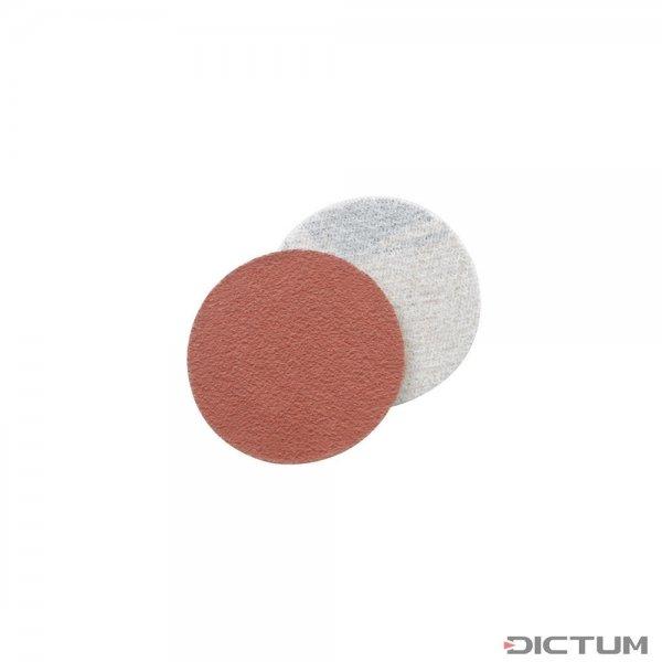 Krążki szlifierskie na rzep, Ø 37 mm, 50 sztuk, ziarnistość 80