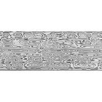 Damasteel DS93X Bifrost Damascus Steel, 32 x 4 x 210 mm