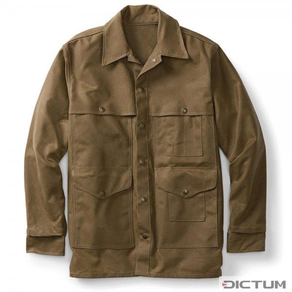 Chaqueta de algodón Filson Cruiser, tostado oscuro, talla M