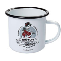 DICTUM Emaille-Becher, »Rockabilly«