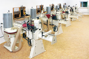 Woodturning room Niederalteich