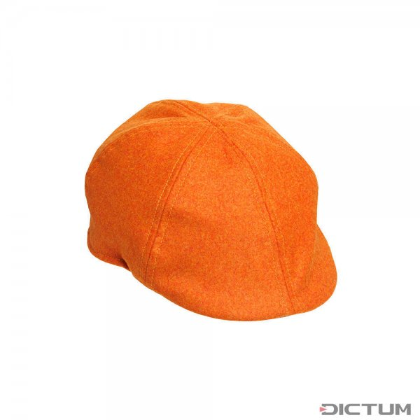 Laksen Tweedmütze, Blaze Orange, Größe 56
