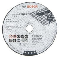 Bosch Straight Cutting Disc Expert for Inox, Ø 76 mm, 5-Piece Set