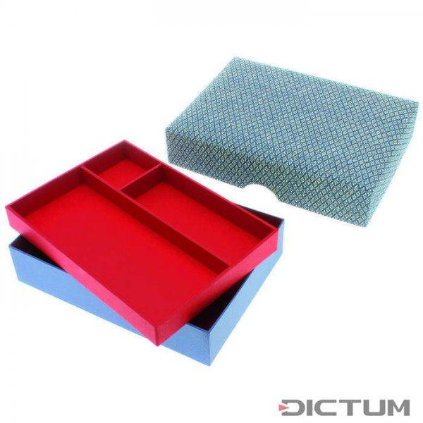 Japońskie pudełko z wkładem i nieco wypukłą pokrywą
