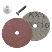 Disque de fibres pour ponceuse excentrique Arbortech, 25 pièces, grain 80