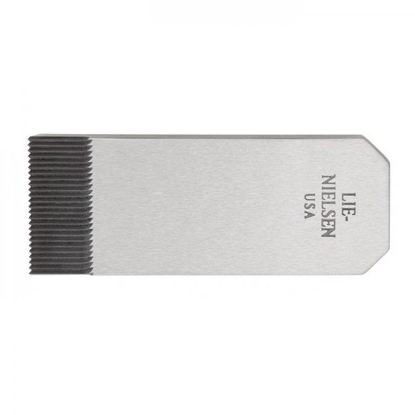 Ferro dentato per vastringa Lie-Nielsen N° 212, spessore del ferro 1 mm