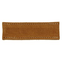 Leather Protective Cap for Mortise Chisels Made of Stretchable Leather, 6 mm
