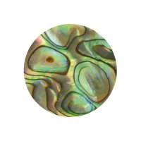 Pastilles de nacre, paua, Ø 5 mm