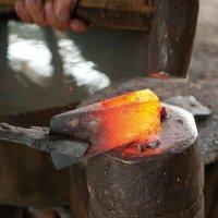 Forging an Outdoor Axe
