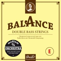 Presto Balance Orchestra Saiten, Bass 3/4, Satz