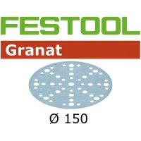 Festool Disque abrasif GRANAT STF D150/48 P120 GR/10