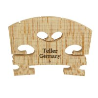 Teller* Bridge, Fitted, Violin 3/4, 38 mm